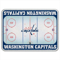 Washington Capitals Glass Cutting Board