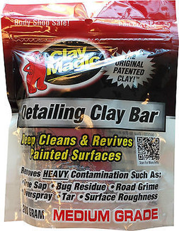 Clay Magic Red Medium Grade 200 Gram Clay Bar