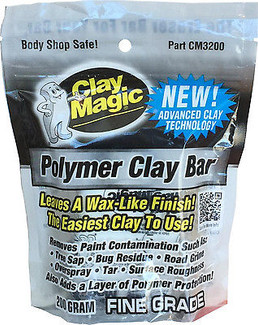 Clay Magic Polymer Fine Grade 200 Gram Clay Bar