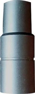 """Mr Nozzle 1-1/2"""" - 1-1/4"""" Vacuum Tool Adapter - Black"""