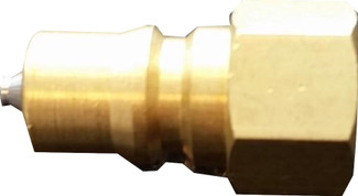 """Mytee 1/4"""" MPQC x 1/4"""" FNPT Brass Male Quick Connect"""