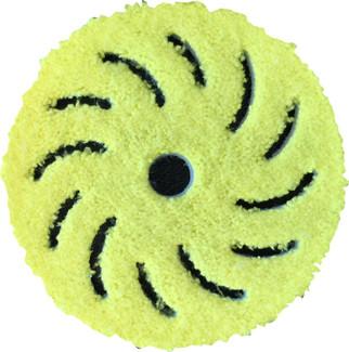 Rupes 6 Inch Yellow Microfiber Finishing Pad