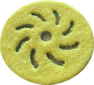 Rupes 5 Inch Yellow Microfiber Finishing Pad