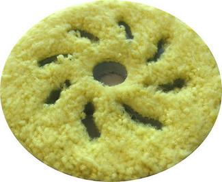 Rupes 3 Inch Yellow Microfiber Finishing Pad