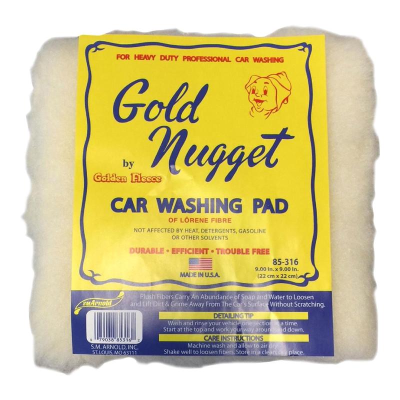 Gold Nugget Car Washing Pad
