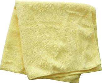 All-Purpose Yellow 300 GSM Microfiber Towel (16 in. x 16 in.)