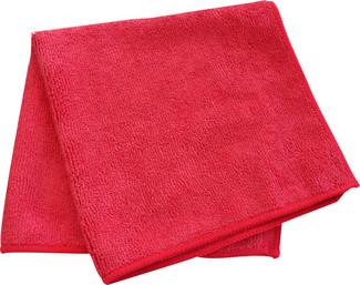 Red 300 GSM Microfiber Towel