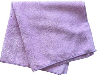 Purple 350 GSM Microfiber Towel