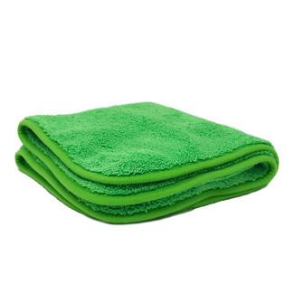 Green / Green 600 GSM Microfiber Towel