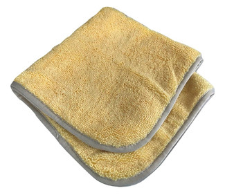Gold / Silver 400 GSM Microfiber Towel