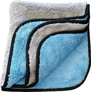 Blue / Gray 700 GSM Microfiber Towel