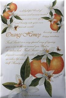 Fresh Scents 6 PACK Orange Honey