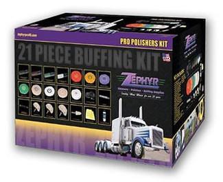 Zephyr 21 Piece Pro Polisher's Starter Kit