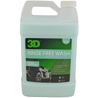 3D Products Rinse Free Wash