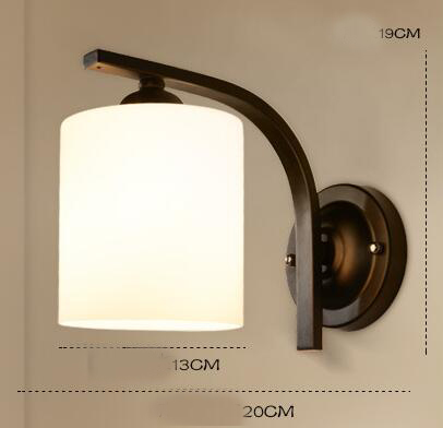 Pastoral Village Single Head Wall Light Bedroom Study Bedside