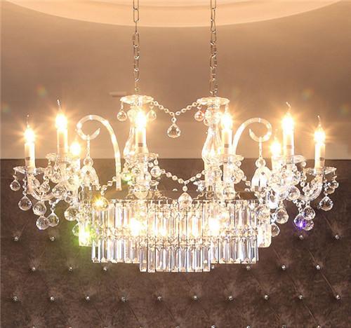 Crystal LED Chandelier;Horizon-lights