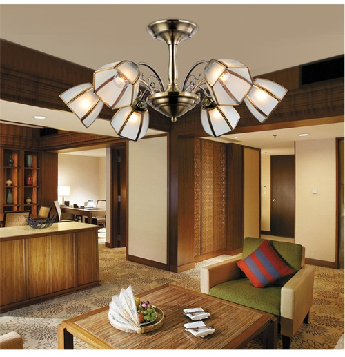 European retro ceiling lamp from Singapore luxury lighting house Horizon-lights.