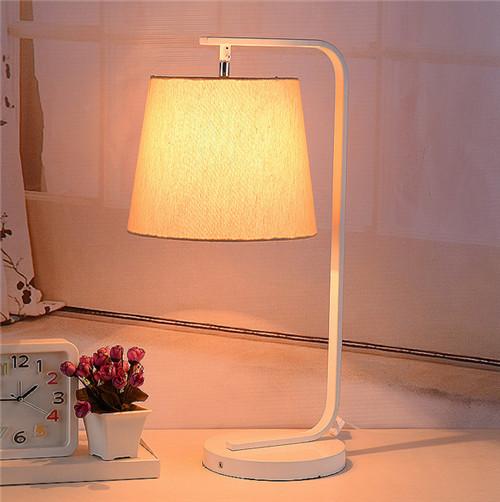 Fabric LED Table Lamp;Horizon-lights