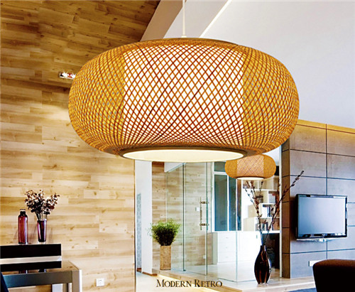 Bamboo Pendant Lights;Horizon-lights