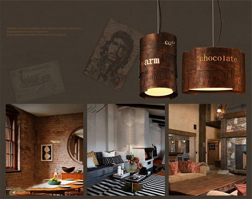 LOFT LED Light Personality Retro Creative Industry Letter Stitching Iron from Singapore luxury lighting house Horizon-lights