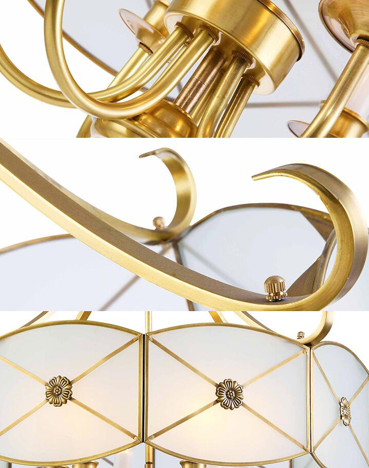 Home Decorative Lighthouse Copper Hand-made Pendant Lights;Horizon-lights