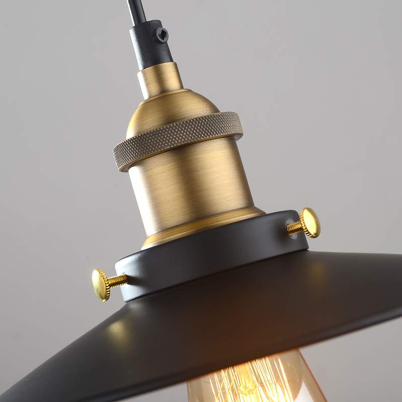 Mayflower  φ26cm Retro Industrial DIY Metal Copper Pendant Lighting Singapore;Horizon-lights