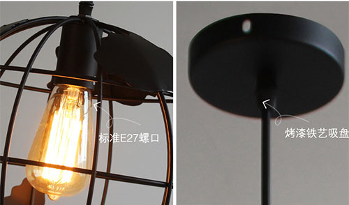 LED pendant Lights Globe Map Metal from Singapore best online lighting shop horizon lights