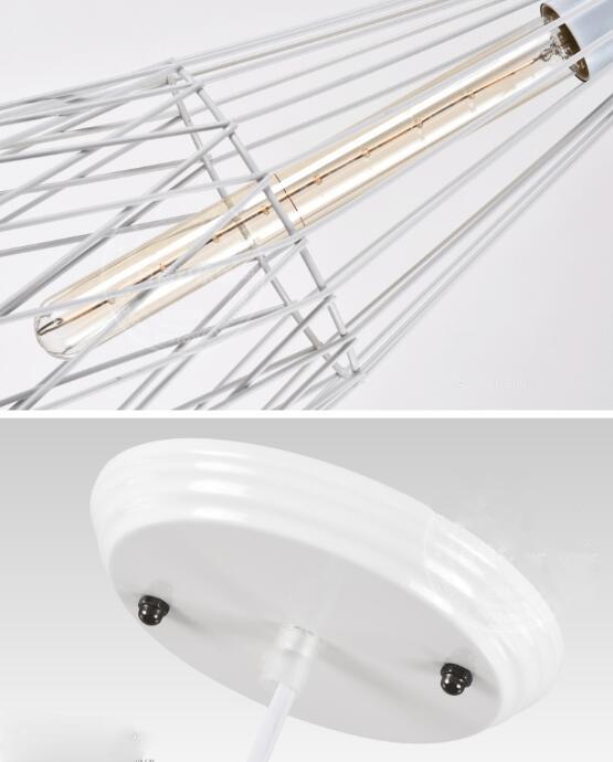 Retro Industrial Home Creative Iron Cage Pendant Lights;Horizon-lights
