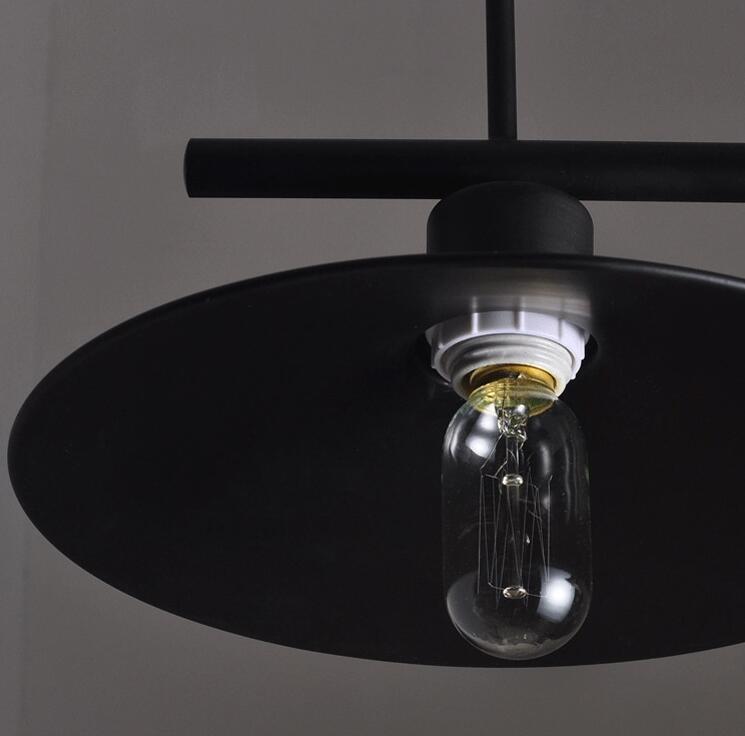 Loft Iron Retro Pendant Lighting Bar Dining Table Creative Personality