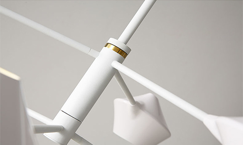 LED Pendat Light Metal Chandeliers Nordic Modern Style from Singapore best online lighting shop horizon lights