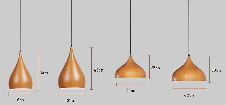 Simple And Modern Fashion Personality Lights Imitation Wooden LED Aluminum Lamp;Horizon-lights
