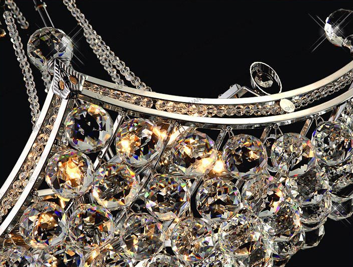 Diamond Crystal Chandelier