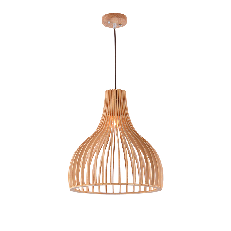 Woodcrafts Cage Pendant Lamp; Horizon-lights