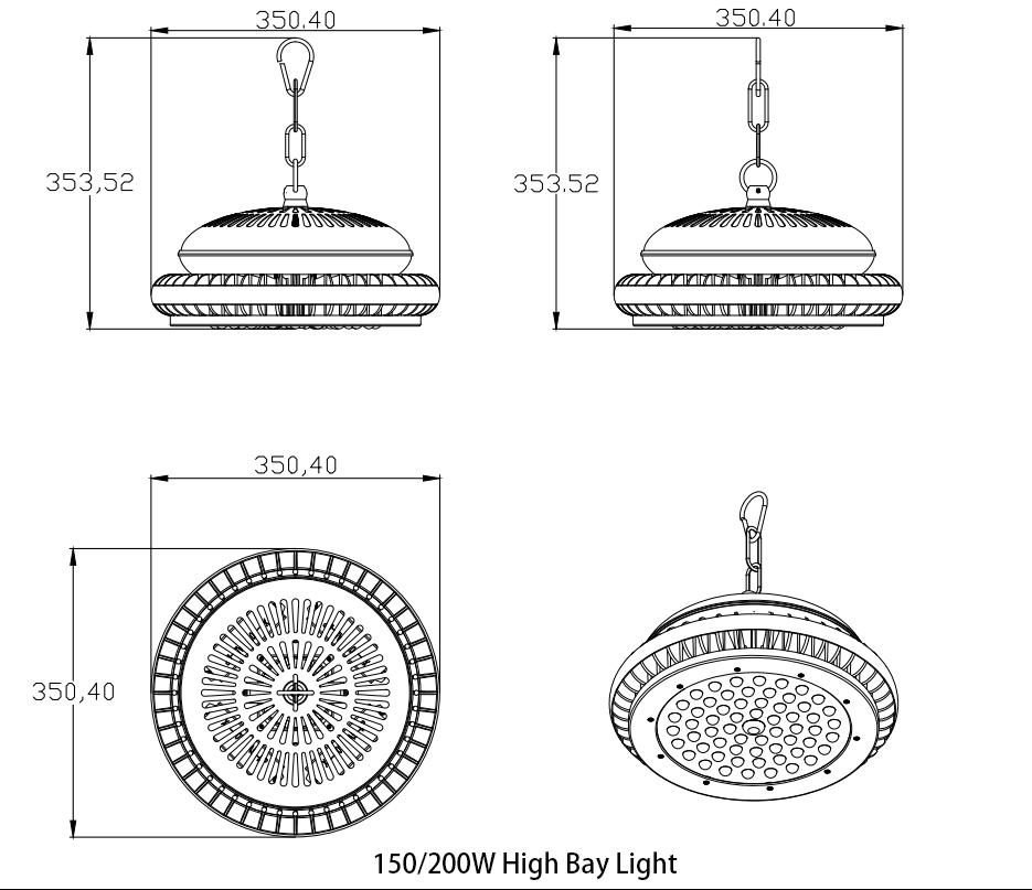 High Bay Light; Horizon-lights