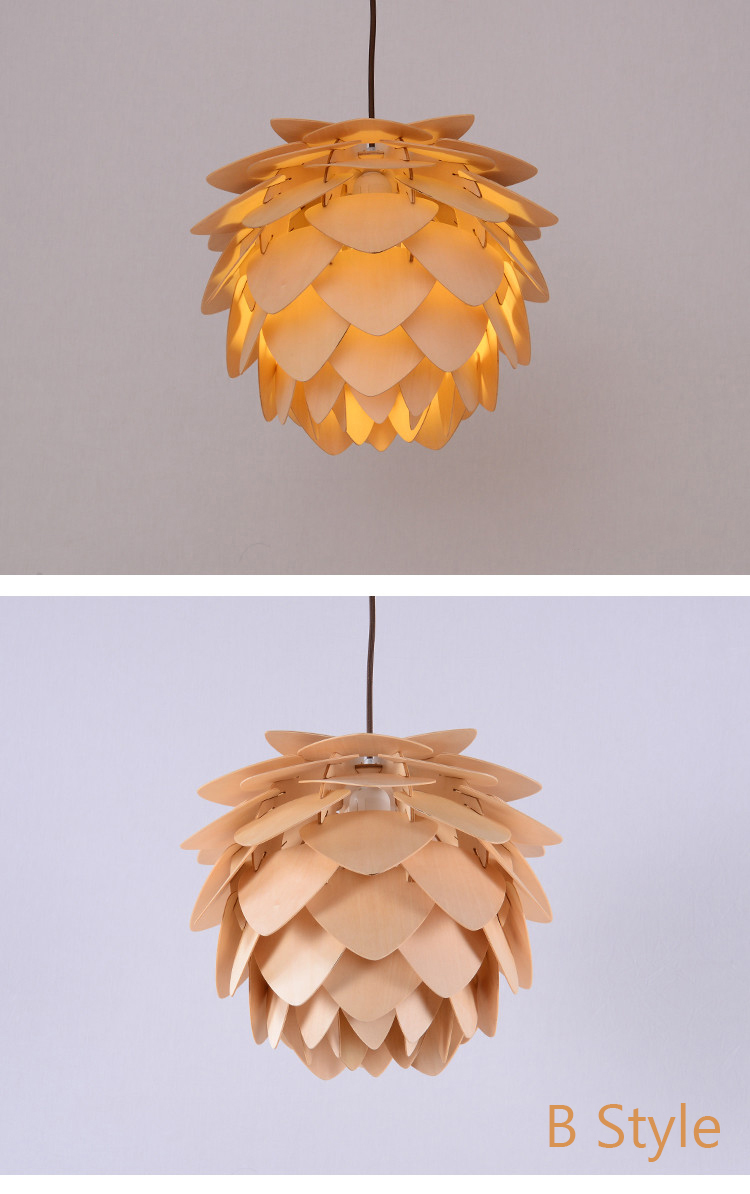 Pinecone Pendant Light; Horizon-lights