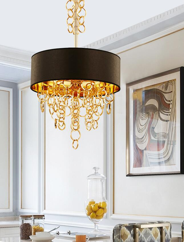 Annular Tassels Art Pendant Lamp