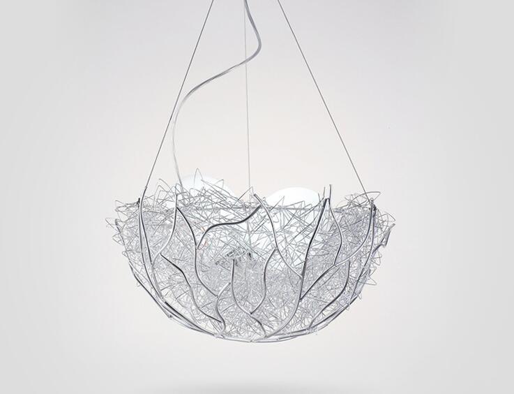 Bird's Nest Pendant Light