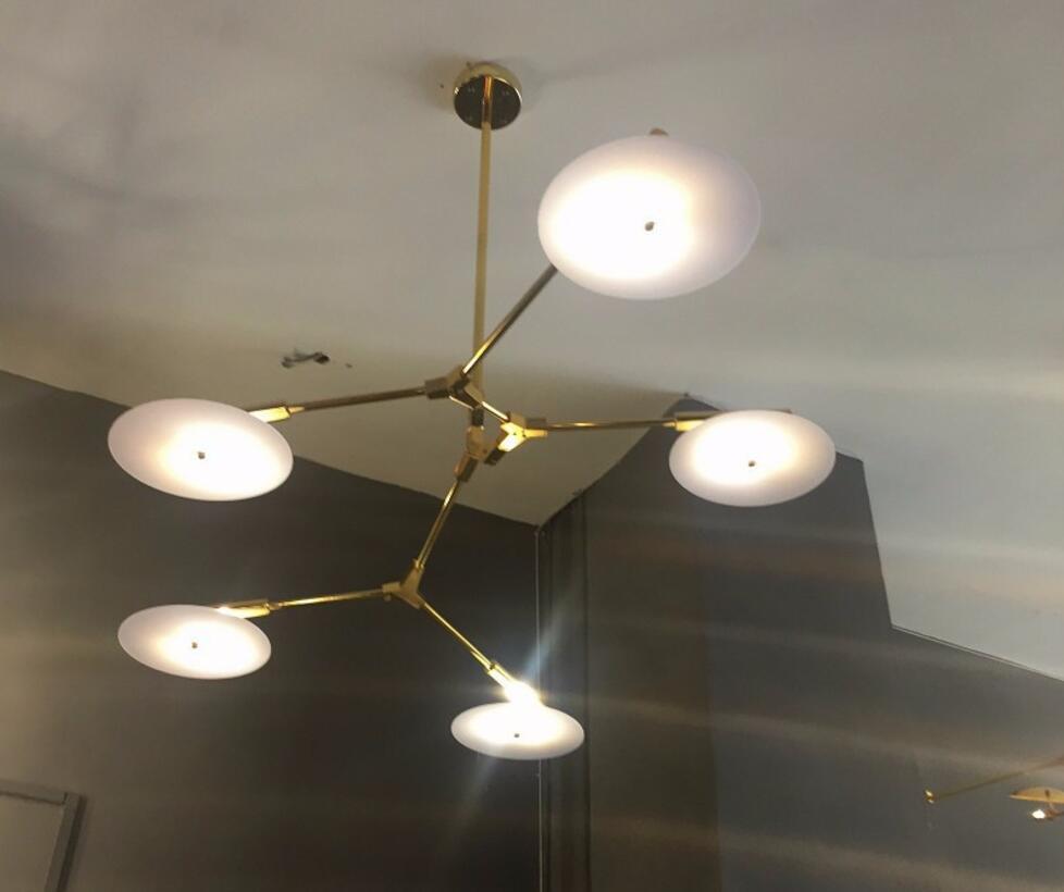 Modern Restaurant UFO Chandelier