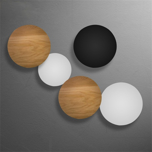 Round solar Eclipse Wall Lamp
