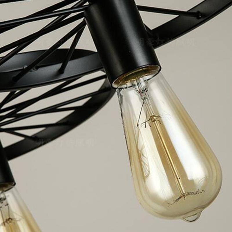 LOFT Pendant lights LED lamp Tricycle Hanging