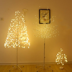Christmas Ornaments Tree Floor Lamp