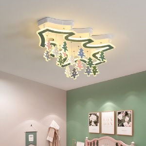 Decorated Christmas tree LED ceiling lights