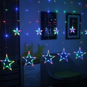Secret Santa's Christmas Star Strong LED Fairy Lights