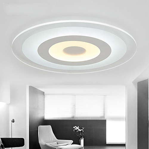 Modern Simple LED Ceiling Lights Acrylic Ultra-thinSpecial Design Living  Room Bedroom