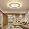 Voglio LED Special design ceiling lamp modern simple ultra-thin for living room dining room restaruant:Horizon-lights