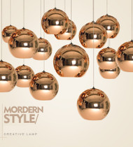 Electroplate Glass LED Pendant Lamps;Horizon-lights image-1