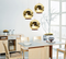 Electroplate Glass LED Pendant Lamps;Horizon-lights image-3