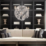 Crystal Chandelier Dandelion flower design contemporary LED Lights Singapore online luxury lighting shop Horizon-lights