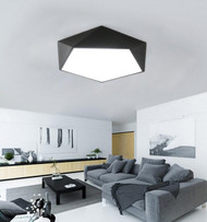 LED Ceiling Lights Diamond Shape Simple and Fashion Metal Living Room