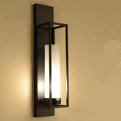 Vintage wall lights glass shade LED lamp Chinese style from  Singapore luxury lights shop Horizon-lights